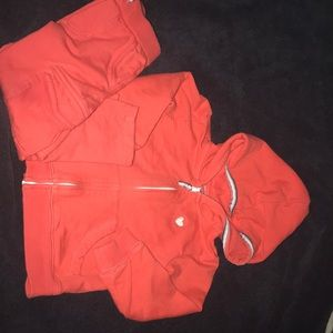 Carters pant and zip up suit